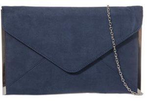 bolso de mano azul marino barato online