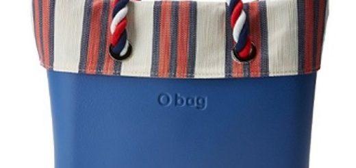 bolso de mano obag azul comprar online