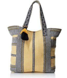 bolso de mano springfield amarillo comprar online