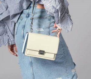 bolso rebecca minkoff blanco comprar online