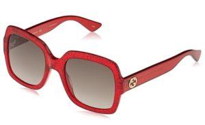 gafas de sol gucci mujer rojas baratas