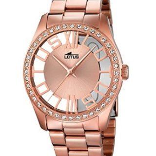 reloj lotus mujer oro rosa comprar online