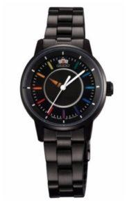 reloj orient mujer negro barato