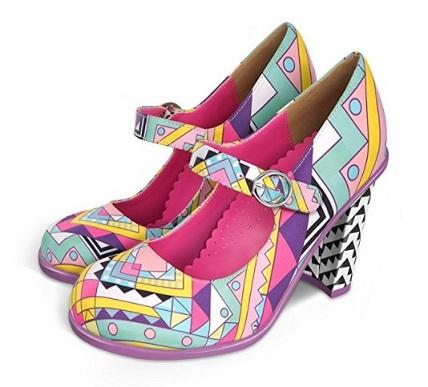 zapatos de tacon chocolaticas online