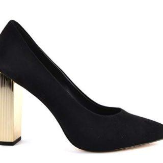 zapatos de tacon michael kors negros baratos