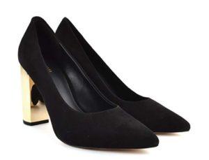 zapatos de tacon michael kors negros precio barato