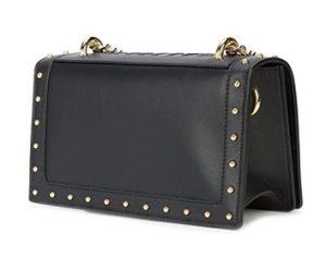 bolso balmain negro de cuero barato