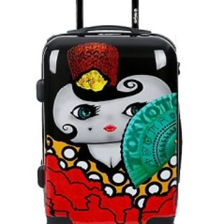 maleta diseño de flamenca comprar online