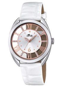 reloj mujer lotus blanco comprar barato
