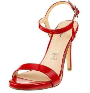zapatos menbur rojos baratos