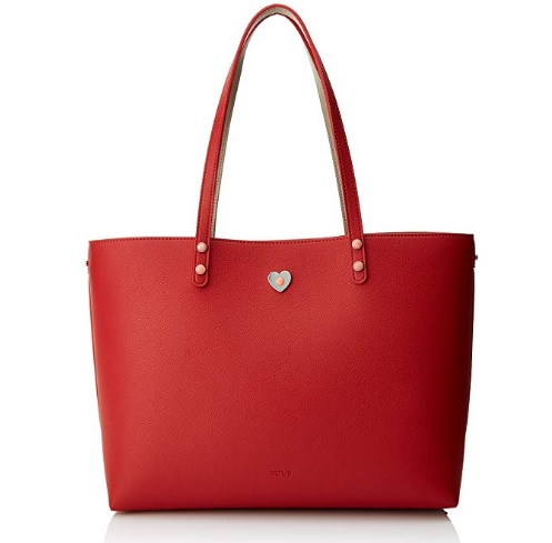 bolso tous super power rojo barato