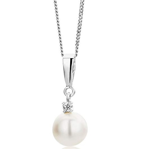 colgante perlas blancas orovi comprar barato