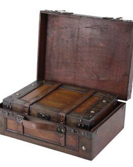 maleta de estilo antiguo comprar barata