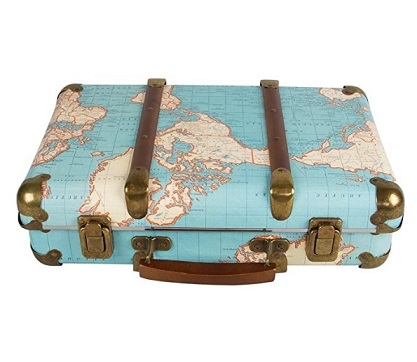 maleta mapa del mundo comprar barata