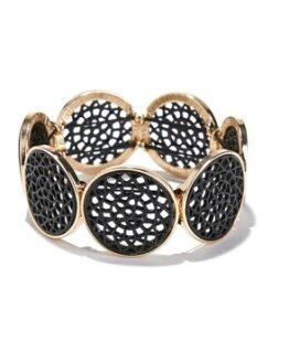 pulsera redonda de metal anne weyburn comprar online