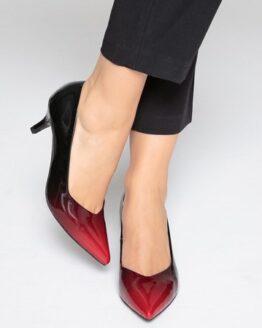 zapatos de tacon rojos de charol mademoiselle comprar online