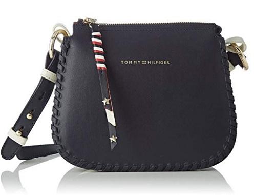 e0c95c72443 Bolso Tommy Hilfiger azul Stitch Leather | Bolsos Baratos Online