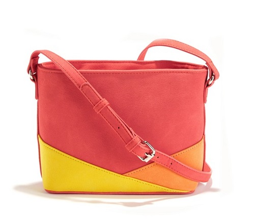 bolso de mano tricolor la redoute comprar barato