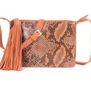 bolso de piel estilo piel de serpiente comprar barato