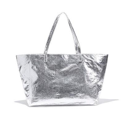 bolso tote color plata la redoute comprar barato