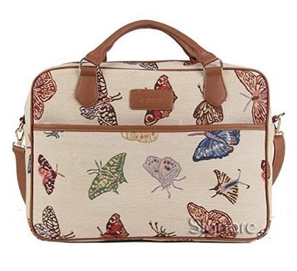 maletin portatil con mariposas comprar barato