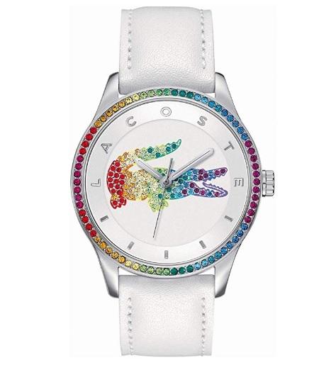 reloj lacoste mujer blanco comprar barato