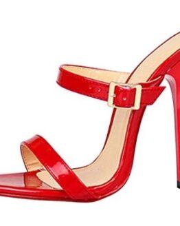 zapatos tacon alto rojos ochenta comprar baratos
