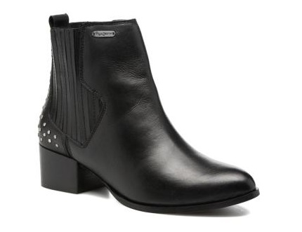 botines mujer pepe jeans negros comprar baratos online