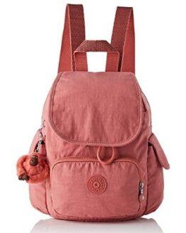 mochila kipling rosa barata comprar online