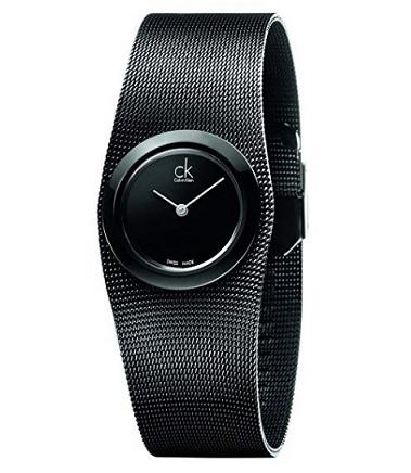reloj mujer calvin klein negro precio barato