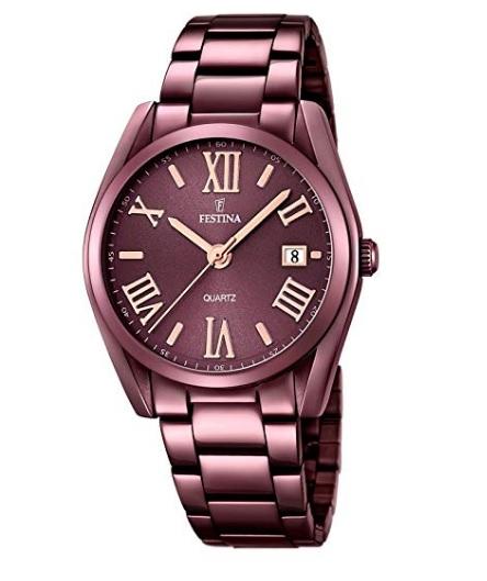 3f876f9ee453 🥇 Reloj mujer Festina marrón BARATO