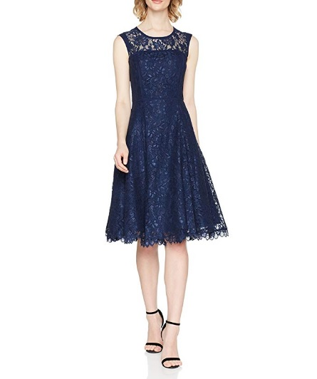vestido de fiesta azul precis petite barato