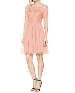 vestido de fiesta esprit beige comprar barato online