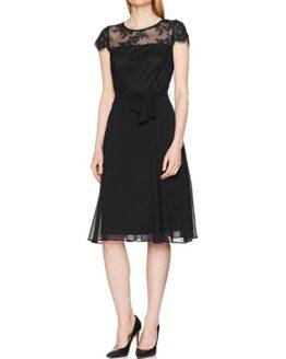 vestido de fiesta esprit negro comprar barato online
