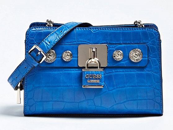 Bandolera Azul Bolso Guess Guess Bolso Azul Bolso Bandolera Azul Bandolera Bandolera Guess Bolso Nmw8n0v