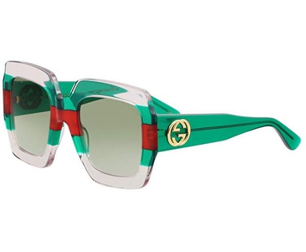 comprar online 5bb15 f80db Gafas de sol Gucci de mujer verdes en oferta. Descuento del 24%
