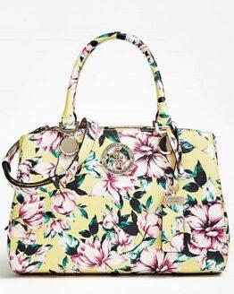comprar bolso de mano guess landon floral precio barato online