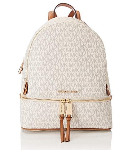 comprar mochila michael kors blanca precio barato online