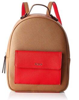 comprar mochila tous essence marron roja precio barato online