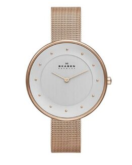 comprar reloj mujer skagen dorado precio barato