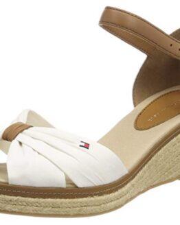comprar sandalias mujer tommy hilfiger blancas precio barato online