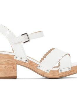 comprar sandalias tacon ancho y plataforma la redoute baratas