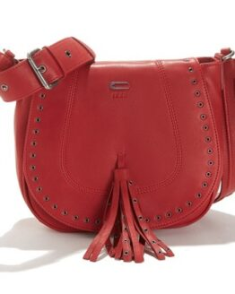 comprar bolso bandolera ikks rojo barato online