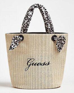 comprar bolso de playa guess bordado precio barato