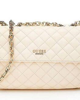 comprar bolso suave de piel guess blanco precio barato