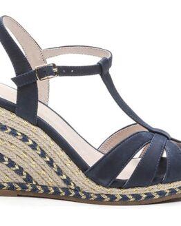 comprar sandalias de piel himoya cosmoparis azules precio barato