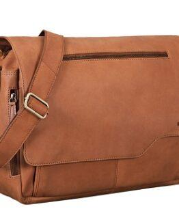 comprar bolso bandolera de piel para portatil precio barato online