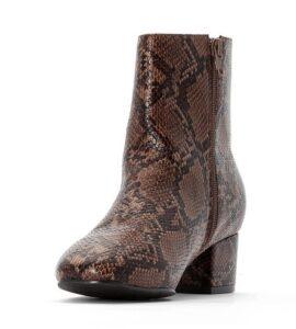comprar botines estulo piel de serpiente baratos online
