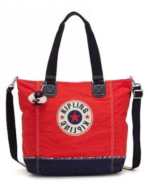 comprar bolso kipling shopper c rojo precio barato online