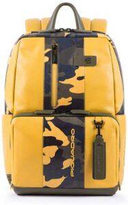 comprar mochila piquadro amarilla precio barato online
